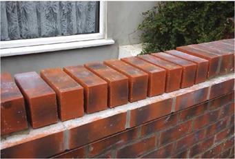 Setting-Out a Brick-on-Edge Coping