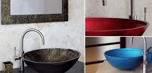 Palette of sinks of