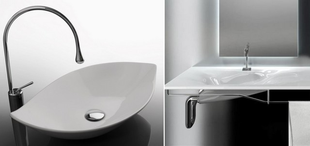 Bathroom equipment: smooth forms always in a fashion!