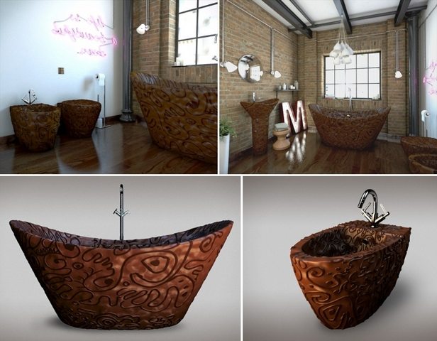 Bath from … chocolate